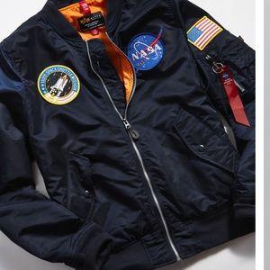 NASA Flight Bomber Jacket